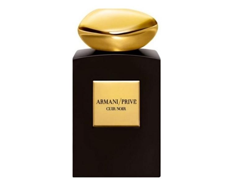 ARMANI PRIVE CUIR NOIR